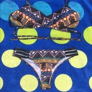 Other - NWOT Tribal Print Bikini